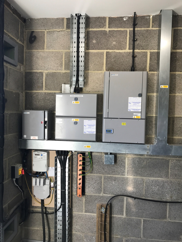 Plant Room Distribution Boards